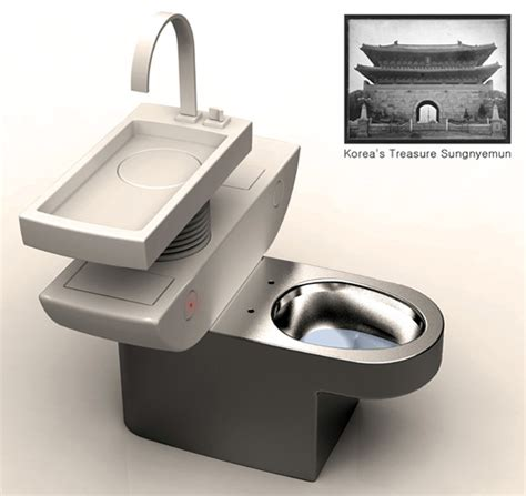 cool toilets double flush for green power yanko design
