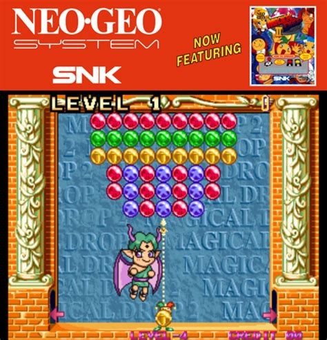 emuparadise neo geo magical drop ii rom