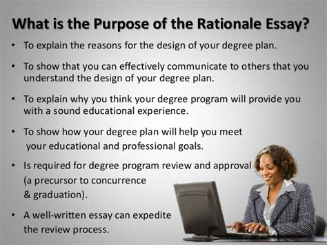 planning amp writing your rationale essay