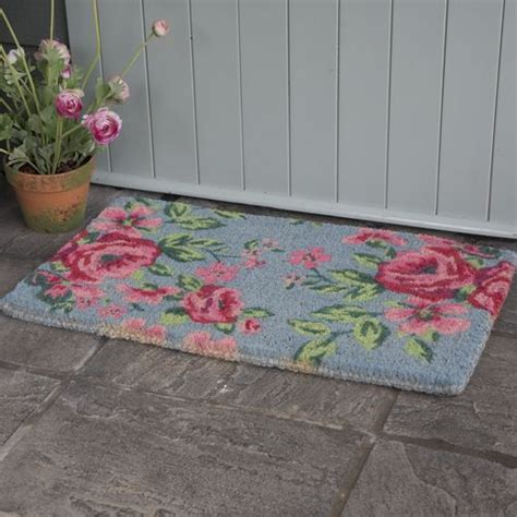shabby chic doormat 28 images shabby chic french vintage floral rubber door mat pink
