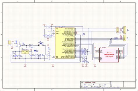 transistor tester circuit led schematic wiring led elsavadorla
