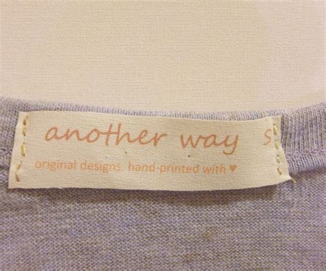 Labels For Handmade Items - 17 best ideas about fabric labels on