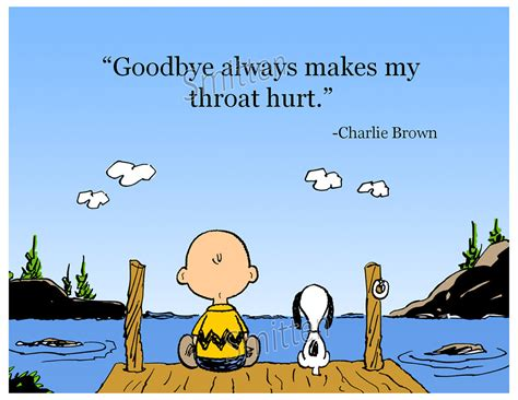 Goodbye is exciting it means you are moving on to new opportunities