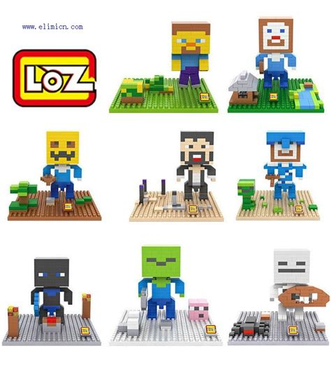 Loz Gift Xl 9640 Blocks loz mini blocks minecraft
