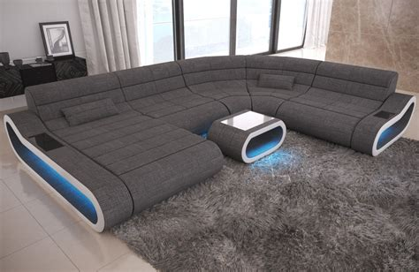 balsan design concept xxl design sectional couch concept xxl with ottoman grey