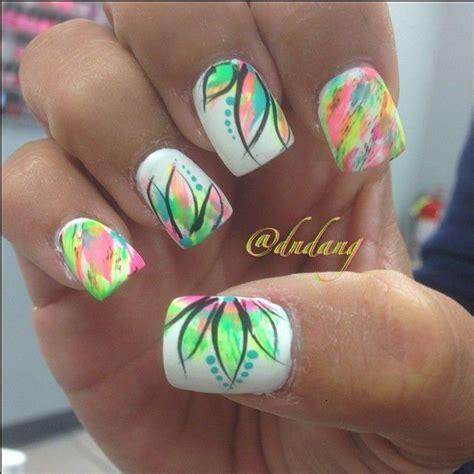 beautiful photo nail 36 bright nail designs nails