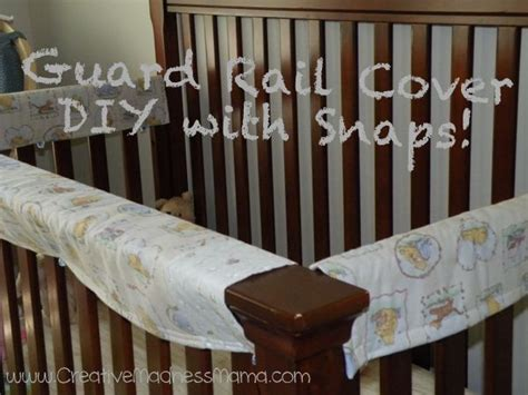 Diy Crib Rail Cover by Diy Crib Guard Rail Teething Cover Tutorial With Snaps