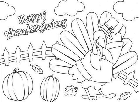 happy coloring pages get this happy thanksgiving coloring pages 8cb41