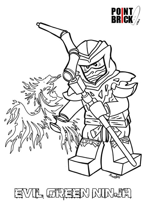 lego ninjago ghost coloring pages disegni da colorare lego ninjago lloyd evil green