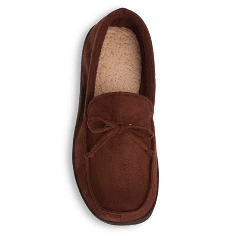 moccasin slippers target impressions by isotoner s brown moccasin slippers target