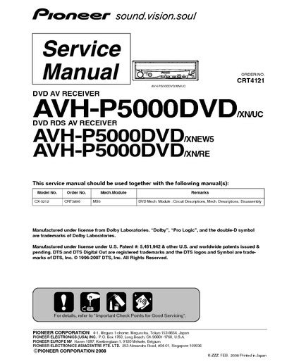 wiring diagram for pioneer avh p5000dvd wiring diagram for