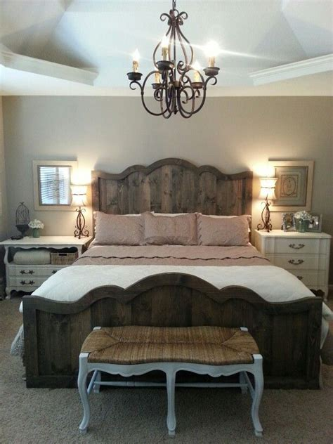 french industrial bedroom love my new french farmhouse chic bed and bedroom rustic