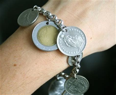 how to make cool jewelry at home diy coins into new cool stuff craftfoxes