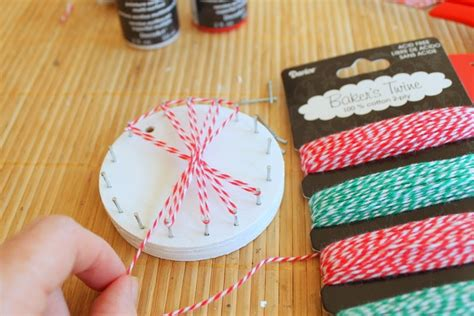 How To Make String On Wood - diy string ornaments u create