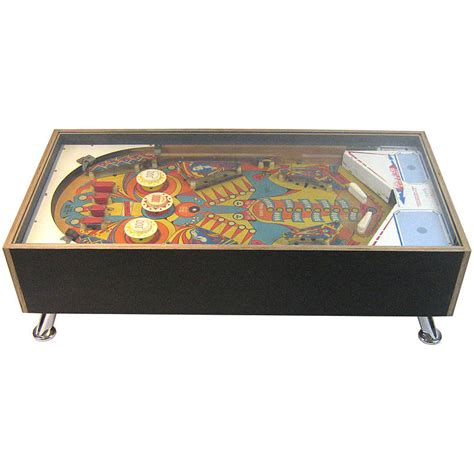 illuminated coffee tables illuminated 1970s pinball coffee table sold by tilt