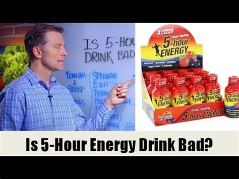 energy drink bad for you is the quot 5 hour energy quot drink bad for you