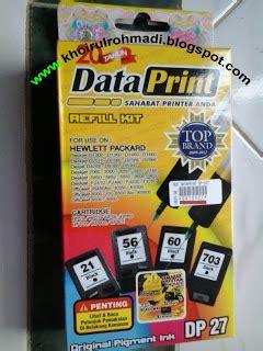 Refill Tinta Printer Hp 802 cara pemakaian tinta suntik data print khoirul rohmadiyatno