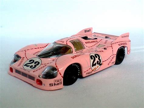 Porsche 917 Pink Pig by Porsche 917 20 Pink Pig Le Mans 1971 23 1 43 Die Cast