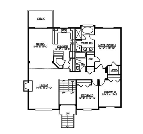Split Level Home Floor Plans by Sagemeadow Split Level Home Plan 071d 0244 House Plans