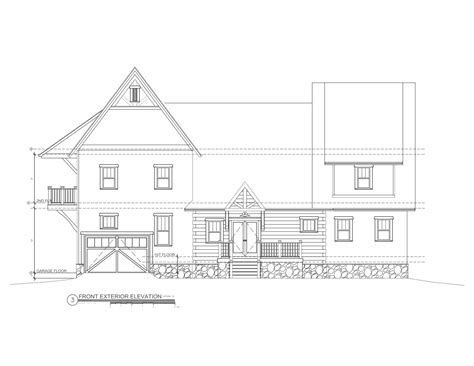 how to draw elevations front house elevation drawing drawing of front elevation