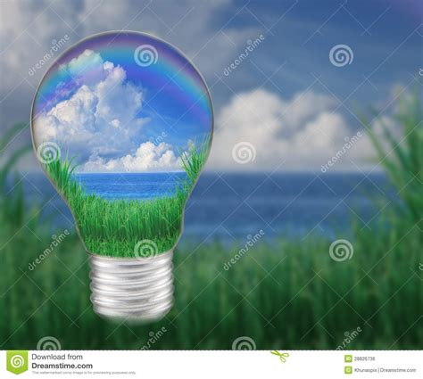 blue sky light bulb app blue water with blue sky white clouds in light bulb seem