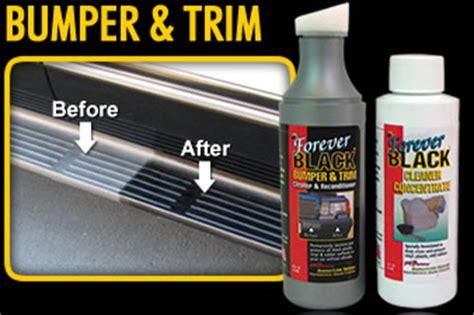 forever back forever black bumper trim products forever black trim