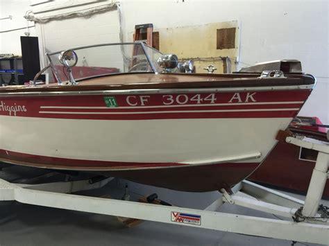higgins wooden boat higgins runabout power boat ski boat 1949 for sale for