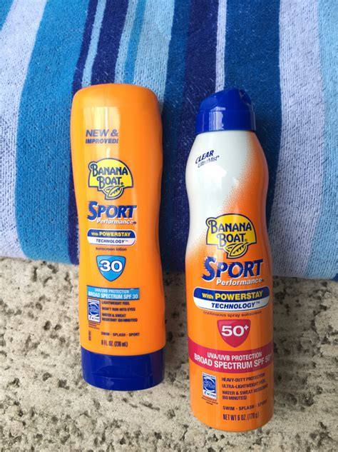 banana boat song sunscreen follow the signs for summer fun in the pool w banana boat