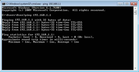 ping test cmd how to fix network problems using command line tools in