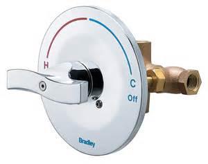 equa flo c5 pressure balancing valve bradley corporation