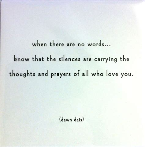 Brief Words Of Comfort Quot When There Are No Words Quot Sympathy Card Livetwicelivetwice