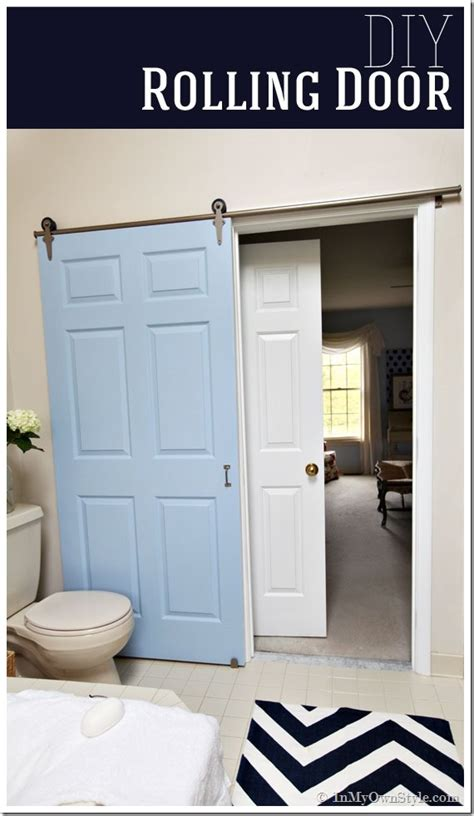 Rolling Closet Door Hardware Diy Add A Rolling Door To A Room A Craft In Your Day