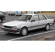 1987 Peugeot 505 Turbo S Left Front USjpg
