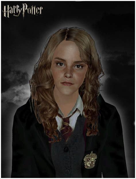mod the sims harry potter trio hermione granger