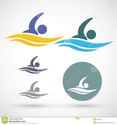 swimming illustrations and clipart can stock photo swimming icon stock vector image of collection game