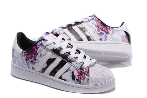 Adidas Pw Flower Black Original discount store adidas lotus print superstar white flower