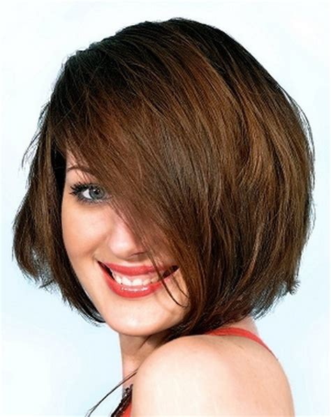 bob haircut fat face short haircuts for chubby faces