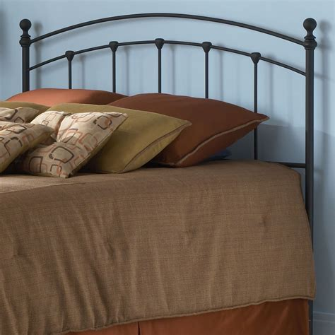 bed headboards fashion bed group sanford metal headboard reviews wayfair