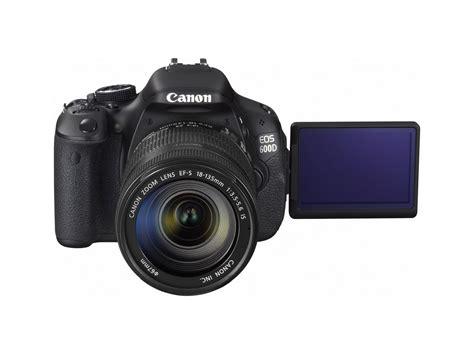 Canon 600d canon eos 600d rebel t3i dslr technical specs