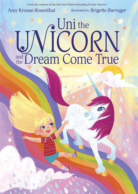 unicorn picture books uni the unicorn and the come true by krouse