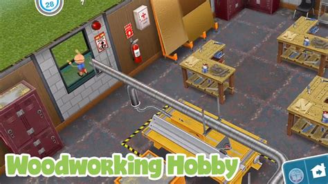 sims freeplay woodworking hobby youtube