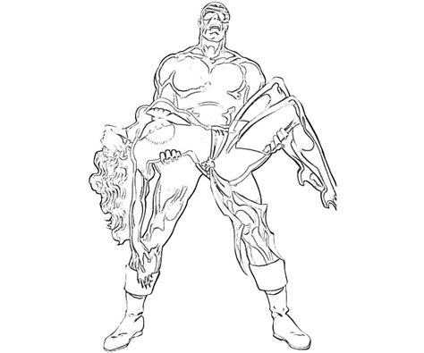 marvel cyclops coloring pages sketch coloring page