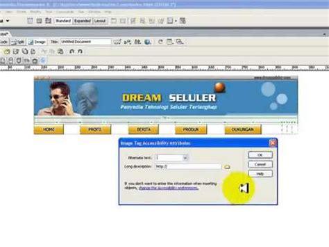 cara membuat website gratis dengan macromedia dreamweaver 8 terbaru 2015 cara buat website dengan trik dreamweaver 8