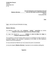 Exemple De Demande D'emploi Onep | Employment Application