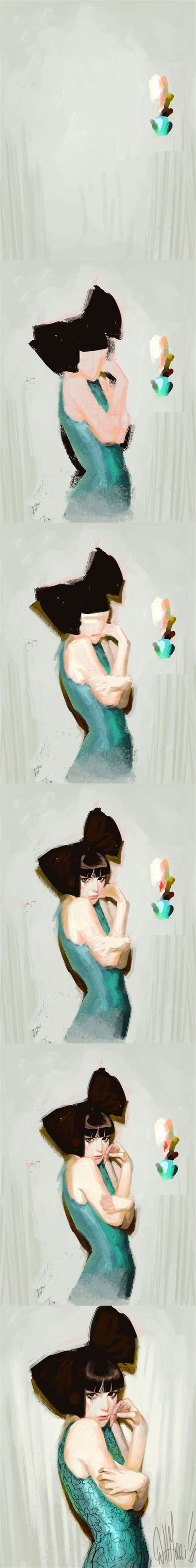 tutorial watercolor anime 206 best digital painting images on pinterest art