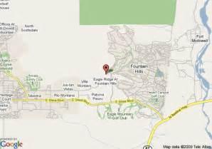 Comfort Inn Phoenix Az Map Of Copperwynd Resort And Club Fountain Hills
