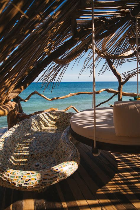 urlaub in skih tte the londoner 187 clifftop treehouses tulum