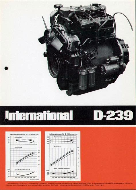 IHC Motor D-239 D And D Motors