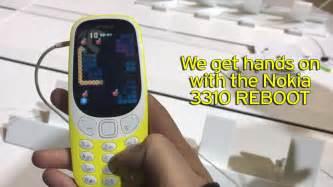 Nokia 3310 Touch Screen where to buy the new nokia 3310 as the retro phone finally