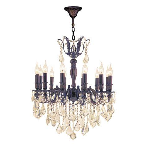 12 light brass chandelier worldwide lighting versailles 12 light flemish brass
